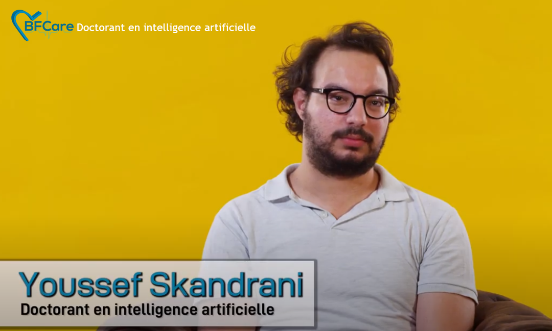 Youssef Skandrani sharing his PhD experience.
