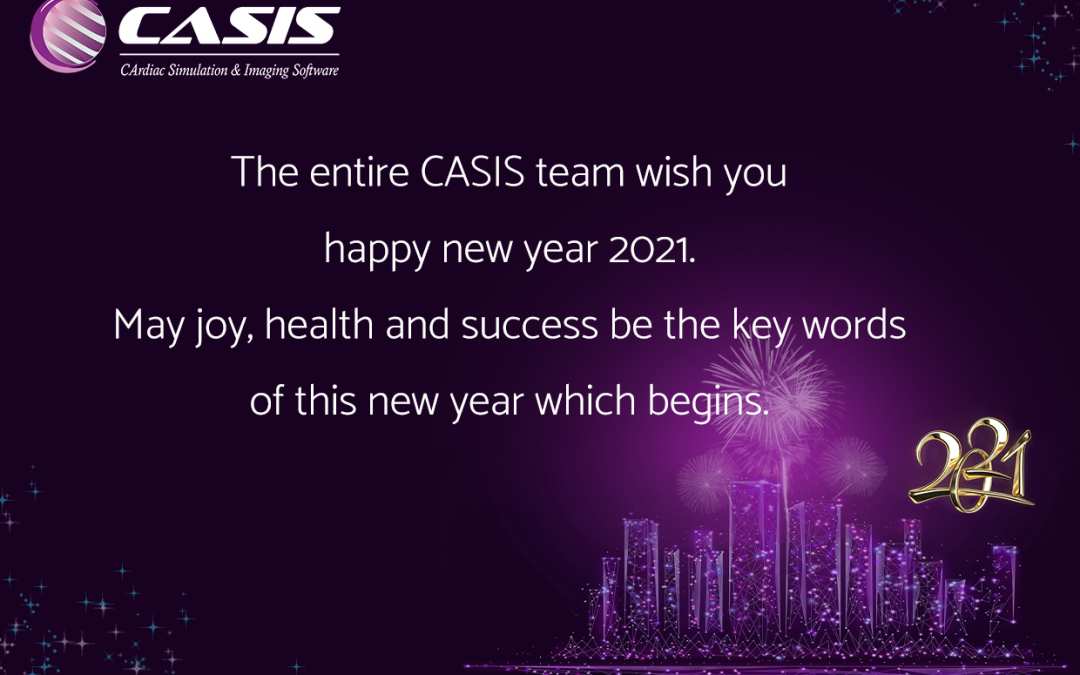 New years greeting 2021