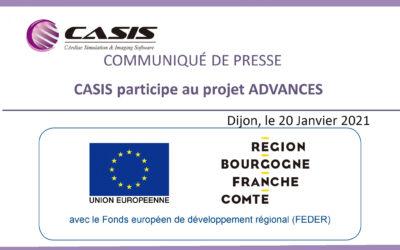 CASIS participe au projet ADVANCES