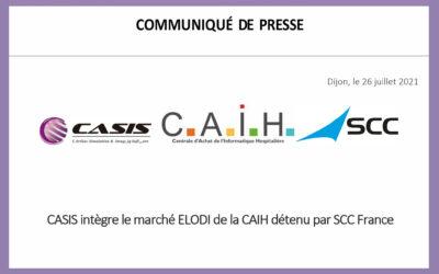 SCCフランスで開催されたCAIHのELODI市場に参入